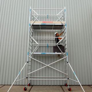 Veilig werken op hoogte - rolsteiger en ladder